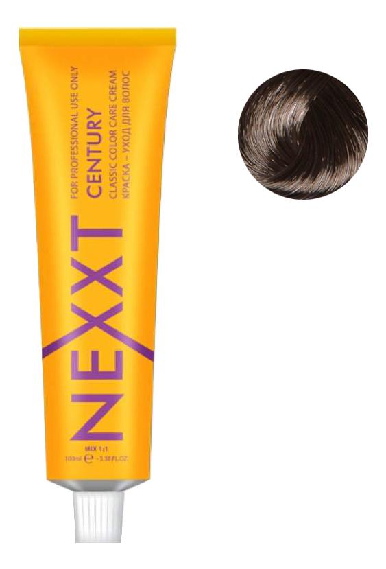 Крем-краска для волос Classic Permanent Color Care Cream Century 100мл: 4.1 Ash Brown
