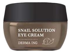 Купить Крем для кожи вокруг глаз с муцином улитки Derma ING Snail Solution Eye Cream 30мл, Joy Life