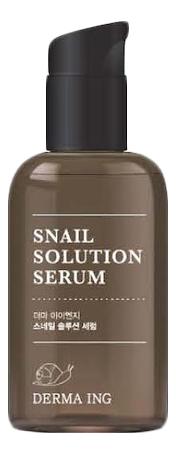 Сыворотка для лица с муцином улитки Derma ING Snail Solution Serum 75мл