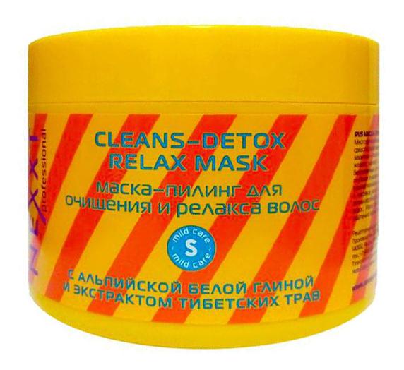 Маска-пилинг для очищения и релакса волос Cleans-Detox Relax Mask: Маска 500мл detox маска