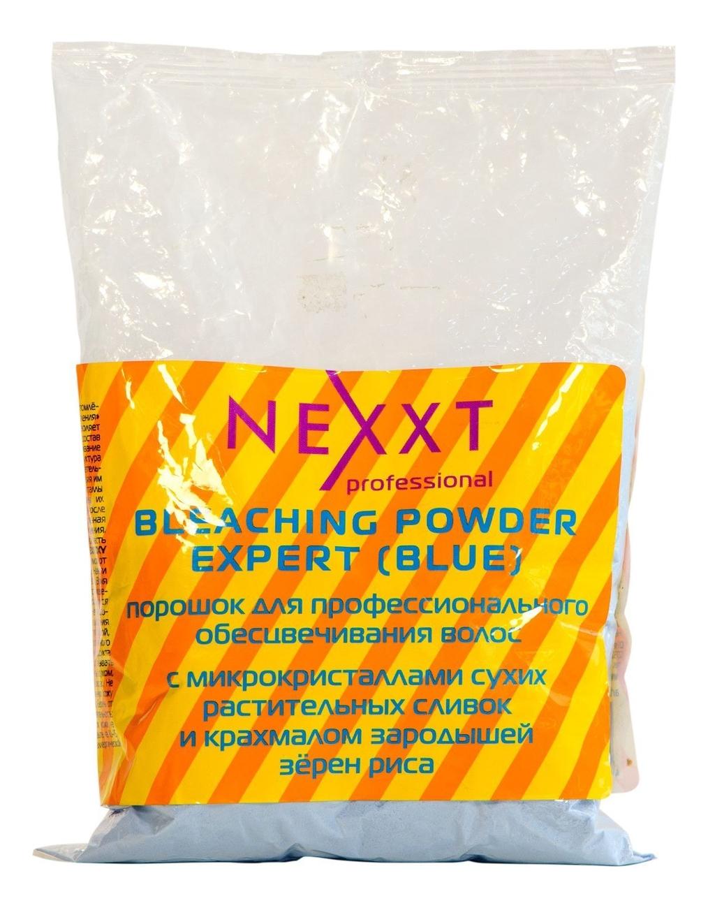 Осветляющий порошок для волос Bleaching Powder Expert Blue: Порошок 500г (пакет) недорого
