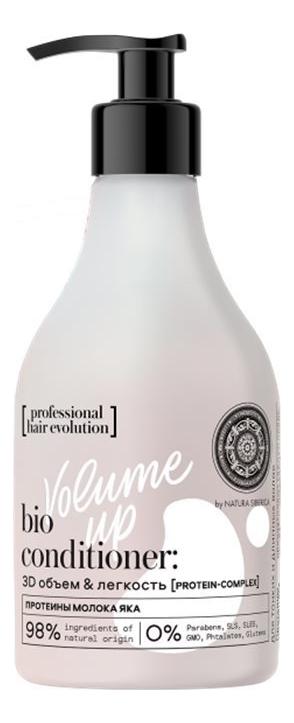 Бальзам для волос с протеином молока яка Hair Evolution Volume Up 250мл бальзам для волос с гиалуроновой кислотой hair evolution aqua booster 250мл