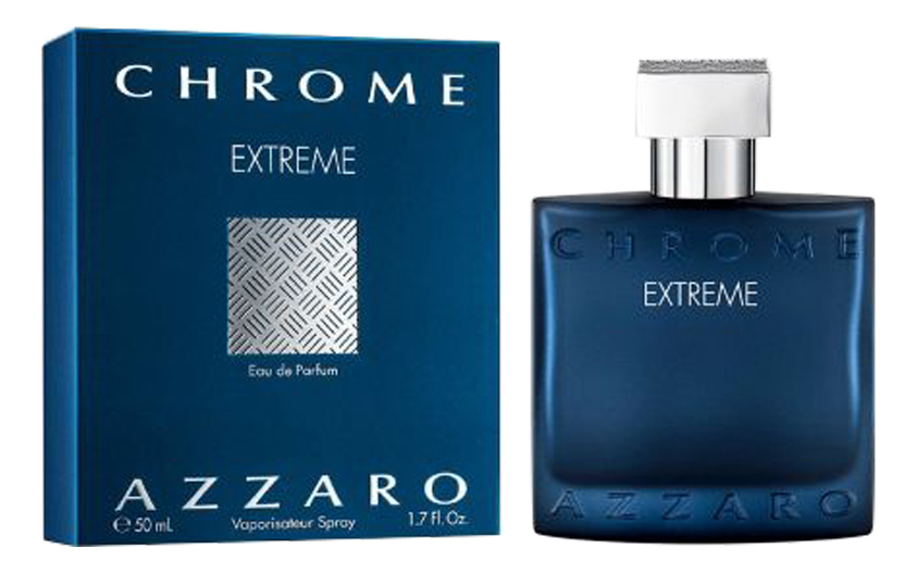Azzaro Chrome Extreme: парфюмерная вода 50мл