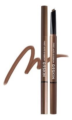 Купить Автоматический карандаш для бровей First Auto Eyebrow 0, 35г: 02 Natural Brown, G9SKIN