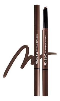 Купить Автоматический карандаш для бровей First Auto Eyebrow 0, 35г: 04 Dark Brown, G9SKIN