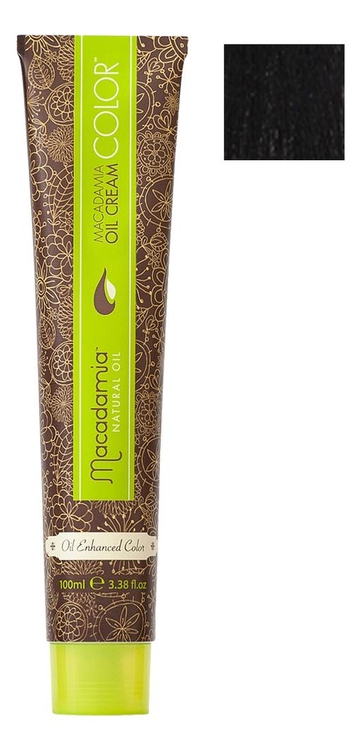 Краска для волос Oil Cream Color 100мл: 1 Черный chi luxury black seed oil curl defining cream gel