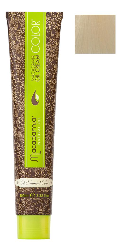 Краска для волос Oil Cream Color 100мл: 10.0 Осветляющий натуральный блондин chi luxury black seed oil curl defining cream gel