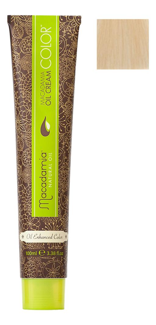 Краска для волос Oil Cream Color 100мл: 10.03 Платиновый теплый блондин chi luxury black seed oil curl defining cream gel