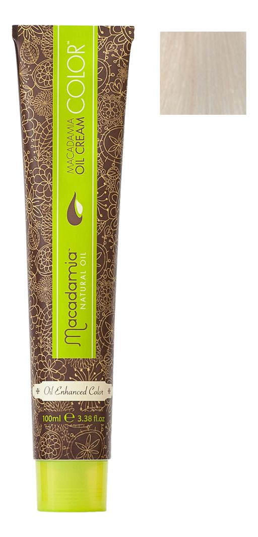 Краска для волос Oil Cream Color 100мл: 10.11 Осветляющий очень пепельный блондин chi luxury black seed oil curl defining cream gel