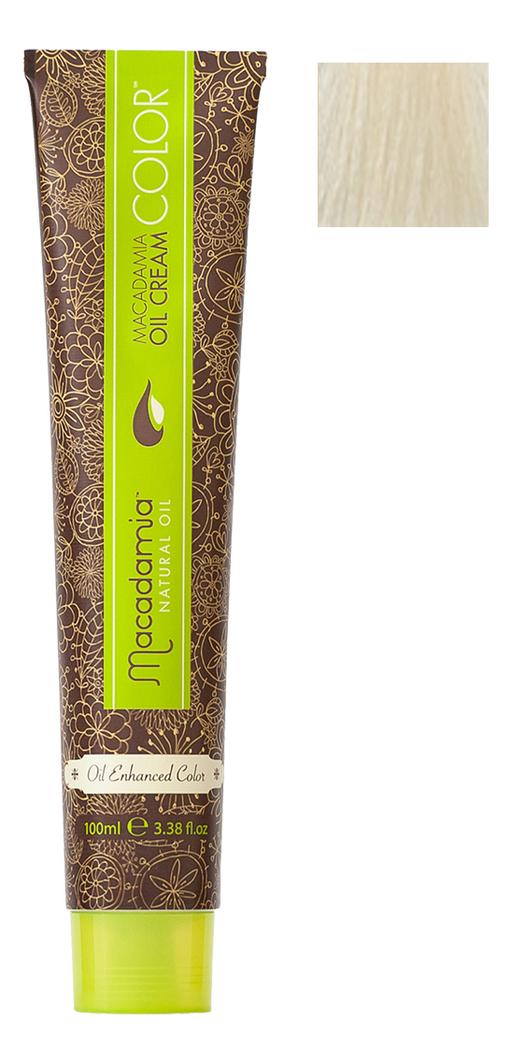 Краска для волос Oil Cream Color 100мл: 12.0 Очень натуральный блондин chi luxury black seed oil curl defining cream gel