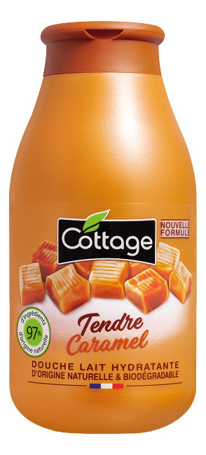 Купить Увлажняющее молочко для душа Moisturizing Shower Milk Sweet Caramel 250мл, Cottage