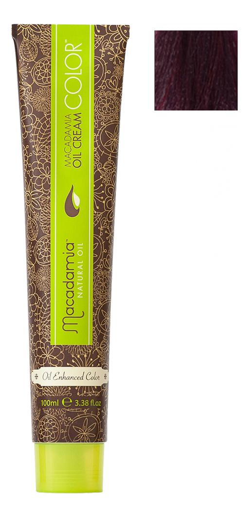 Краска для волос Oil Cream Color 100мл: 5.2 Светлый радужный каштановый chi luxury black seed oil curl defining cream gel