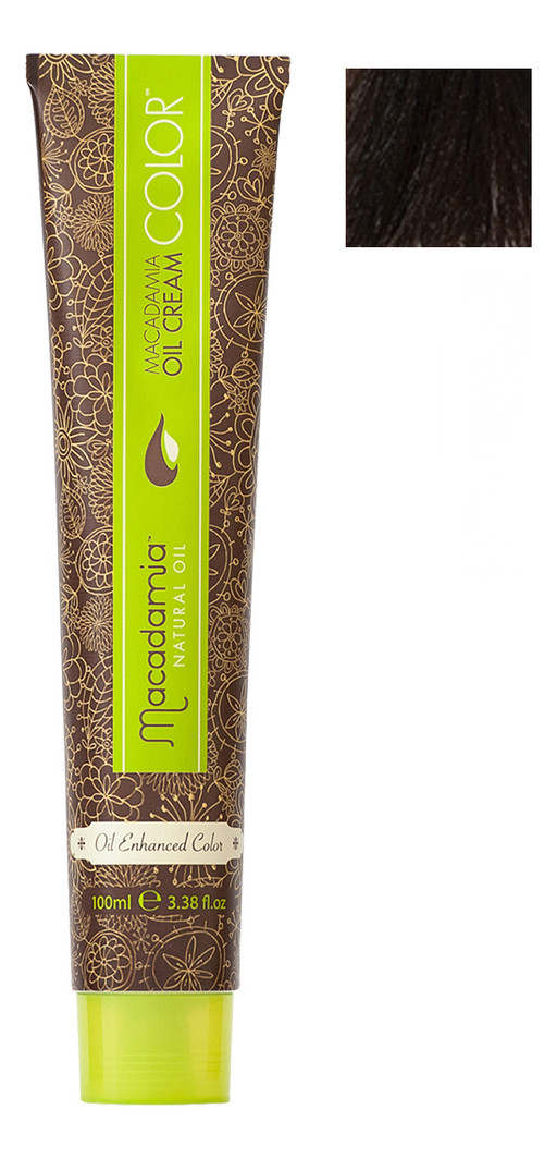 Краска для волос Oil Cream Color 100мл: 5.35 Светлый золотистый шоколадный chi luxury black seed oil curl defining cream gel