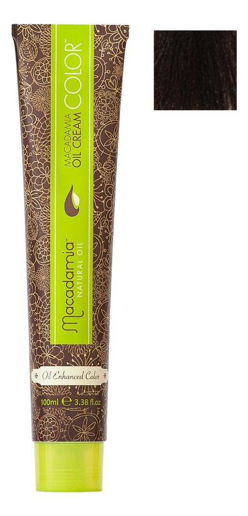 Краска для волос Oil Cream Color 100мл: 5.73 Светлый шоколадный каштановый chi luxury black seed oil curl defining cream gel