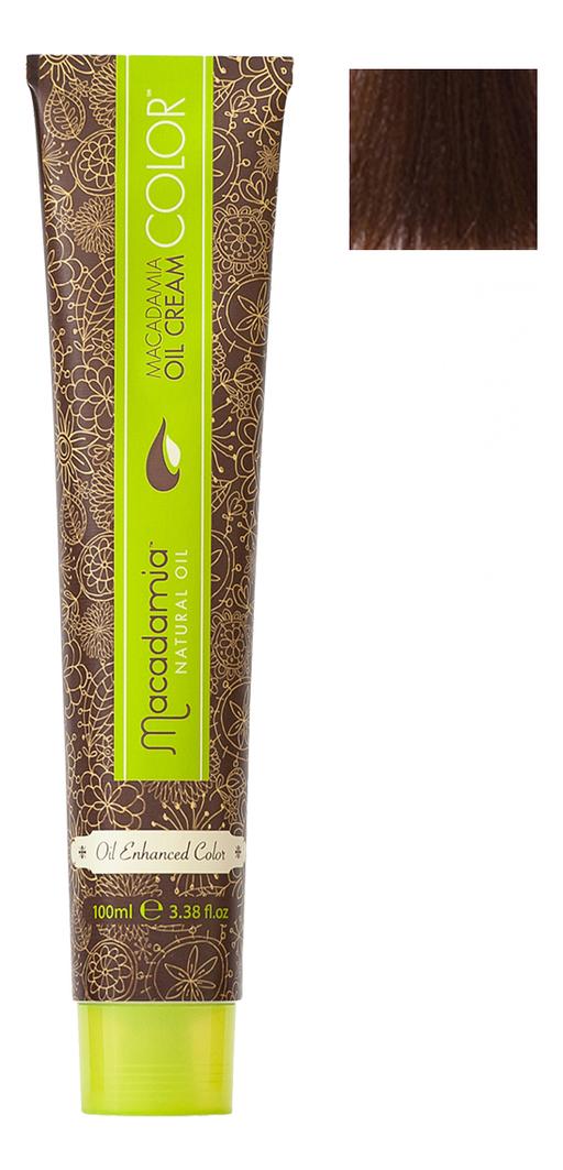 Краска для волос Oil Cream Color 100мл: 6.23 Темный теплый шоколадный блондин chi luxury black seed oil curl defining cream gel