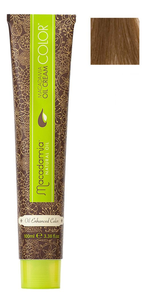 Краска для волос Oil Cream Color 100мл: 7 Средний блондин chi luxury black seed oil curl defining cream gel