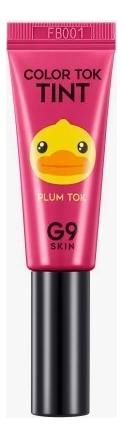 Купить Тинт для губ Color Tok Tint 5мл: 03 Plum, G9SKIN