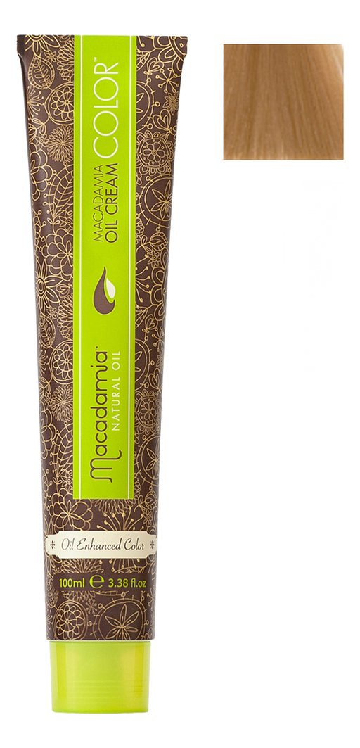 Краска для волос Oil Cream Color 100мл: 8.03 Светлый теплый блондин chi luxury black seed oil curl defining cream gel