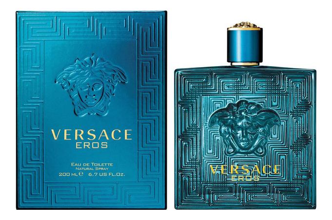Versace Eros: туалетная вода 200мл туалетная вода versace eros 100 мл мужская