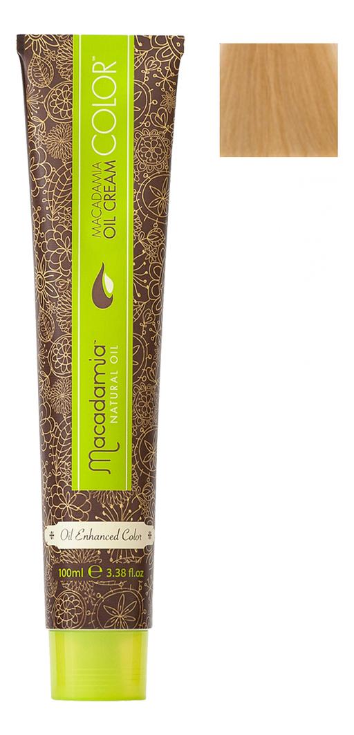 Краска для волос Oil Cream Color 100мл: 9.03 Очень светлый теплый блондин chi luxury black seed oil curl defining cream gel