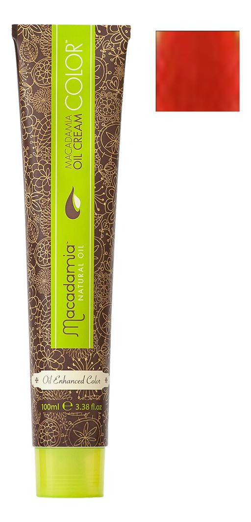 Краска для волос Oil Cream Color 100мл: R Красный chi luxury black seed oil curl defining cream gel
