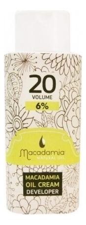 Окислитель для краски Oil Cream Developer 6%: Окислитель 150мл chi luxury black seed oil curl defining cream gel