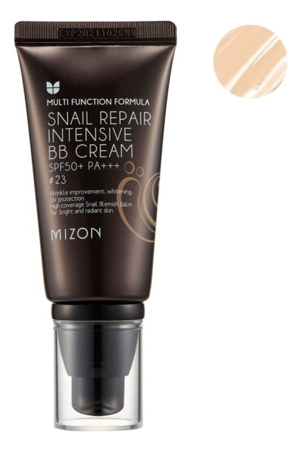 Купить BB крем для лица Snail Repair Intensive Cream SPF50+ РА+++ 20мл: No 23, Mizon