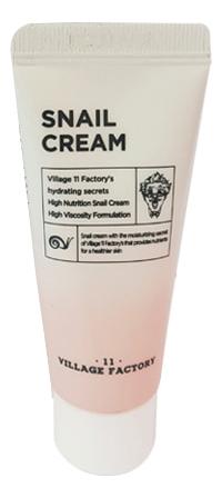 Купить Крем для лица с улиточным муцином Snail Cream: Крем 20мл, Village 11 Factory