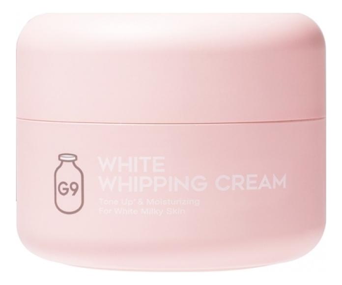Крем для лица осветляющий с экстрактом молочных протеинов White In Whipping Cream Pale Pink 50г недорого