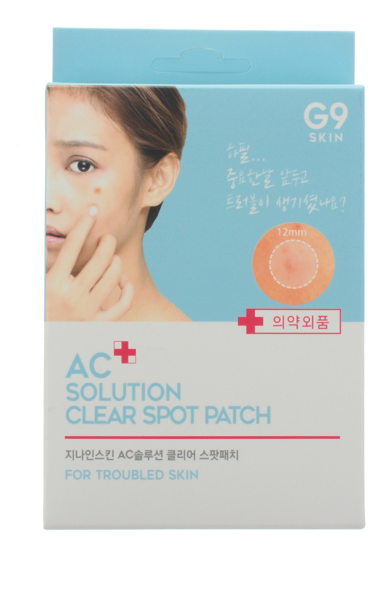 Патчи для проблемной кожи лица AC Solution Acne Clear Spot Patch 60шт акне vprove a cleanew spot clear patch