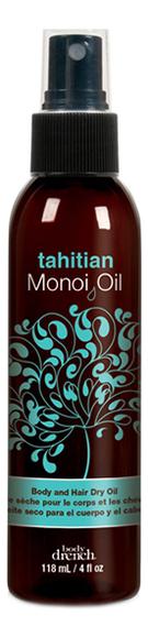 Масло-спрей таитянского монои для тела и волос Tahitian Monoi Oil Spray 118мл