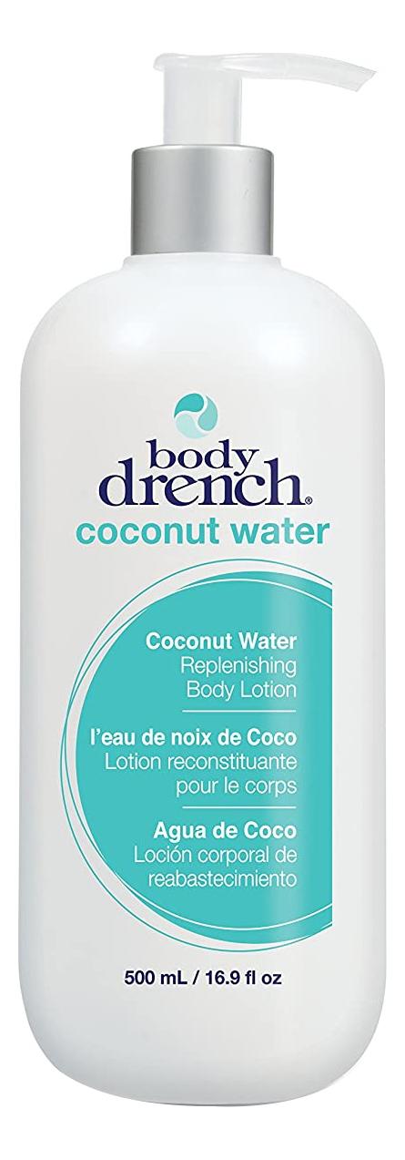 Купить Восстанавливающий лосьон для тела с кокосовой водой Coconut Water Replenishing Lotion: Лосьон 500мл, Body Drench