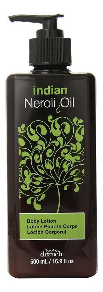Купить Индийский лосьон для тела с маслом нероли Indian Neroli Oil Body Lotion: Лосьон 500мл, Body Drench