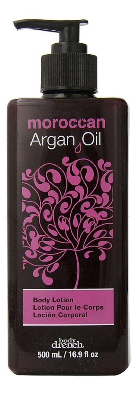 Купить Марокканский лосьон для тела с аргановым маслом Moroccan Argan Oil Body Lotion: Лосьон 500мл, Body Drench