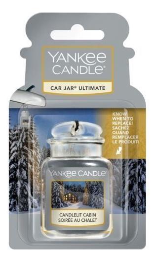 Гелевый ароматизатор для автомобиля Candlelit Cabin недорого