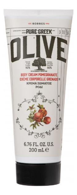 Купить Крем для тела Pure Greek Olive Body Cream Pomegranate 200мл (олива и гранат), Korres