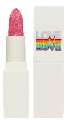 Фото - Матовая помада для губ с частицами блесток Crystal Crush Lipstick 3,3г: 02 Stunning Pink holika holika бальзам для губ