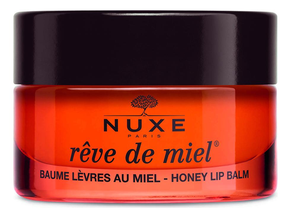Купить Ультрапитательный восстанавливающий бальзам для губ с медом Reve De Miel Lip Balm 15г, NUXE
