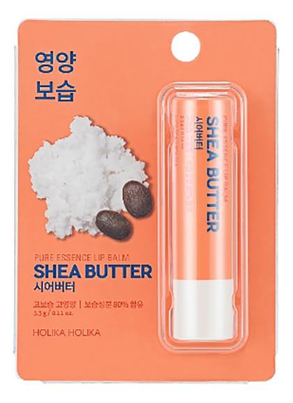 Фото - Бальзам для губ с маслом ши Pure Essence Shea Butter Lip Balm 3,3г holika holika бальзам для губ