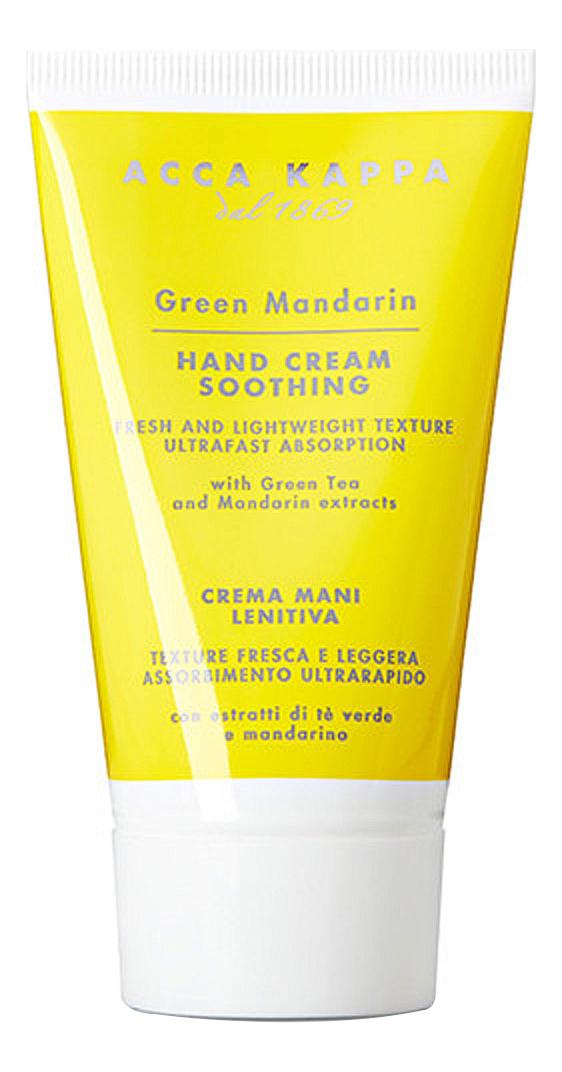 Купить Успокаивающий крем для рук Зеленый мандарин Green Mandarin Hand Cream Soothing 75мл, Acca Kappa