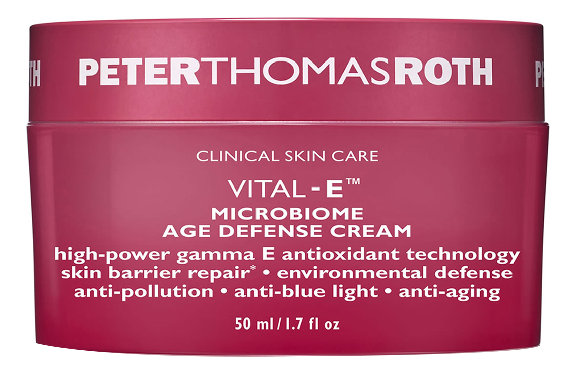 Антивозрастной защитный крем для лица Vital-E Microbiome Age Defense Cream 50мл
