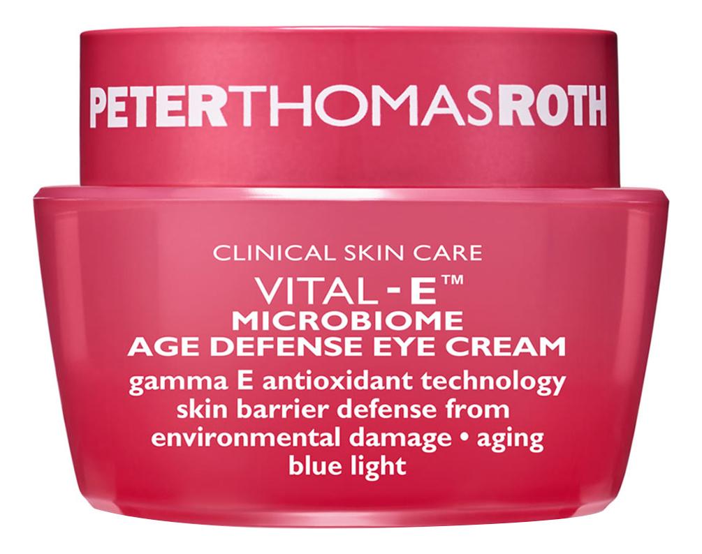 Купить Антивозрастной защитный крем для области вокруг глаз Vital-E Microbiome Age Defense Eye Cream 15мл, Peter Thomas Roth