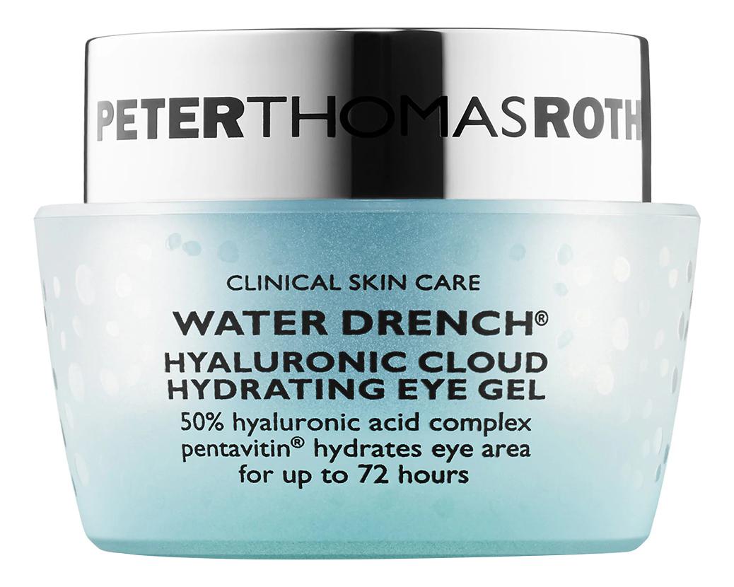 Купить Увлажняющий гель для области вокруг глаз с гиалуроновой кислотой Water Drench Hyaluronic Cloud Hydrating Eye Gel 15мл, Peter Thomas Roth