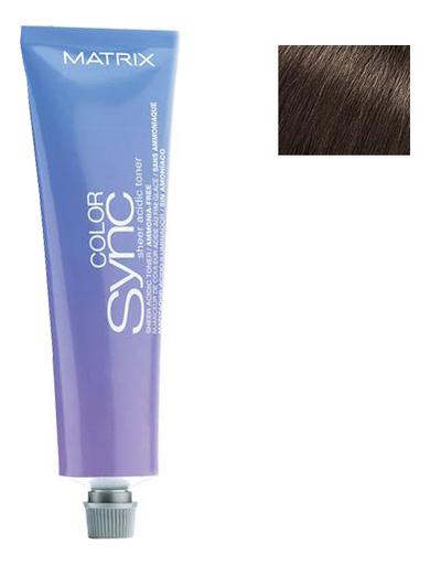 Кислотный тонер для волос Color Sync Acidic Toner Sheer 90мл: Brunette Matte кислотный тонер для волос color sync acidic toner sheer 90мл brunette ash