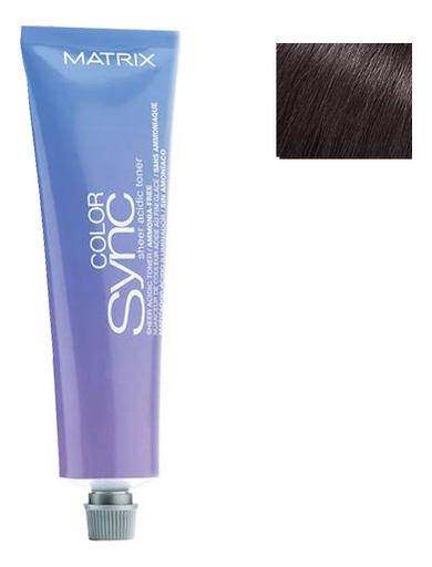 Кислотный тонер для волос Color Sync Acidic Toner Sheer 90мл: Brunette Ash кислотный тонер для волос color sync acidic toner sheer 90мл brunette ash
