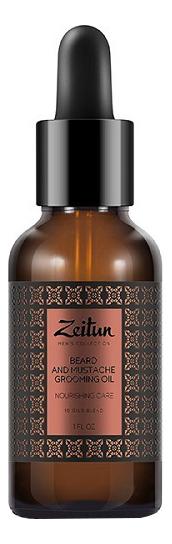 Питательное масло для бороды и усов Beard And Mustache Grooming Oil 30мл