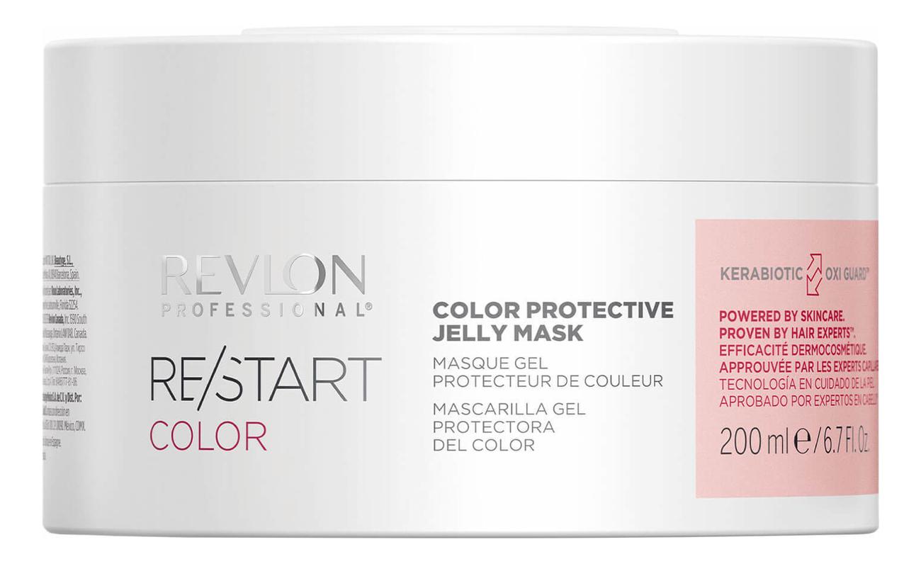 Фото - Защитная гель-маска для волос Restart Color Protective Jelly Mask: Гель-маска 200мл professional protective disposable mask with breathing valve 5 ply earloop protection masks