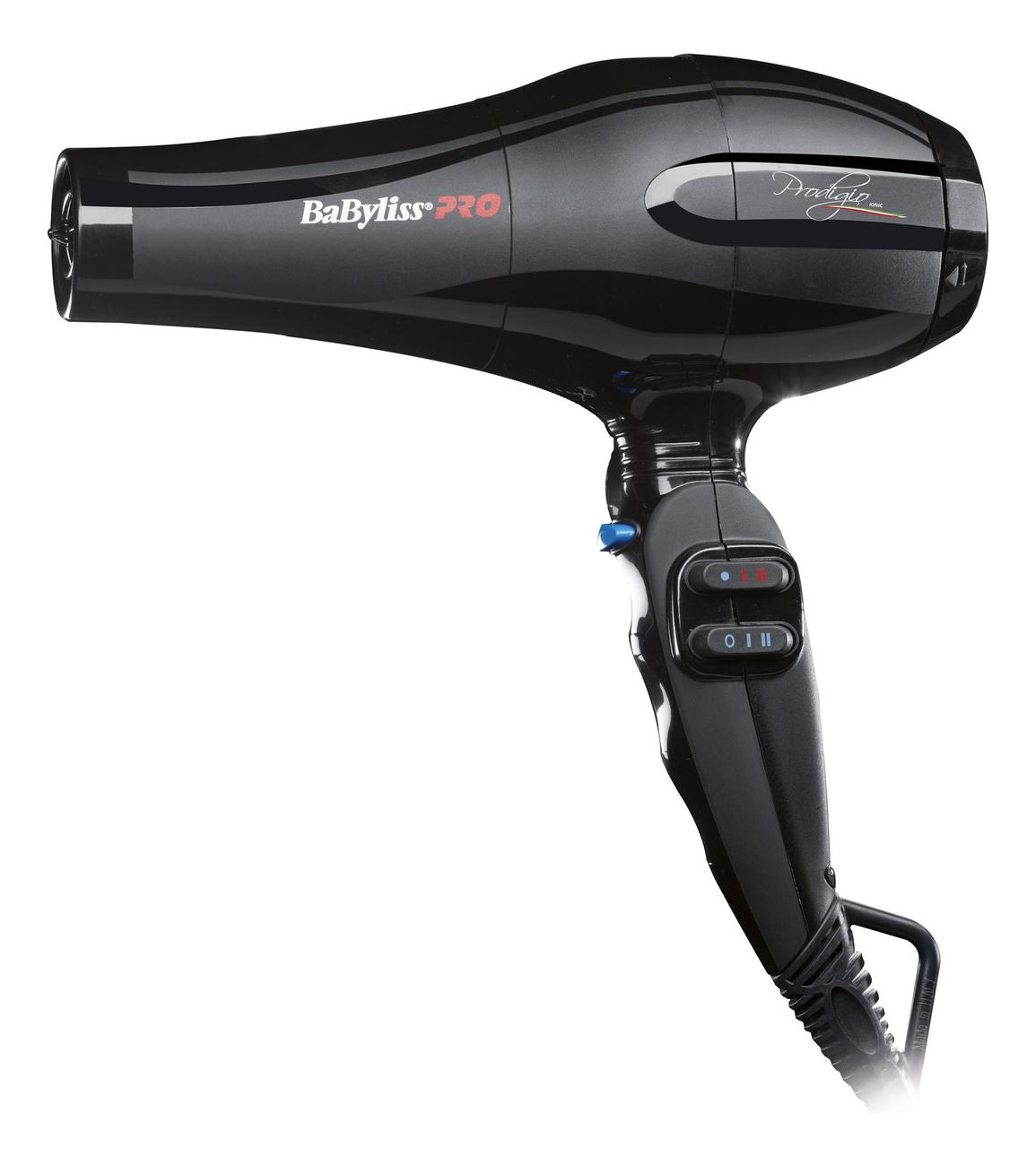 Фото - Фен для волос Prodigio 2300W BAB6730IRE (2 насадки) фен prodigio 2100w bab6710re babyliss
