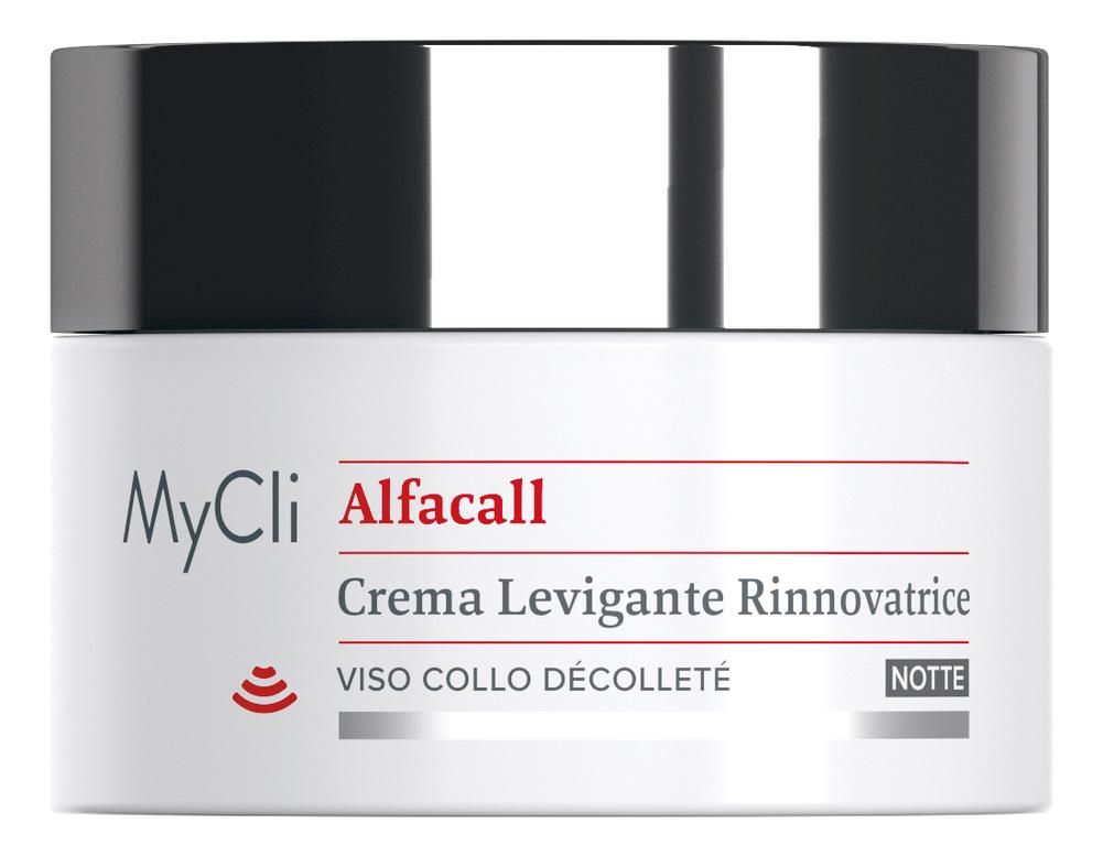 Ночной восстанавливающий крем для лица Alfacall Renewal Smoothing Night Cream 50мл восстанавливающий ночной крем для лица muse revitalizing night cream 50мл