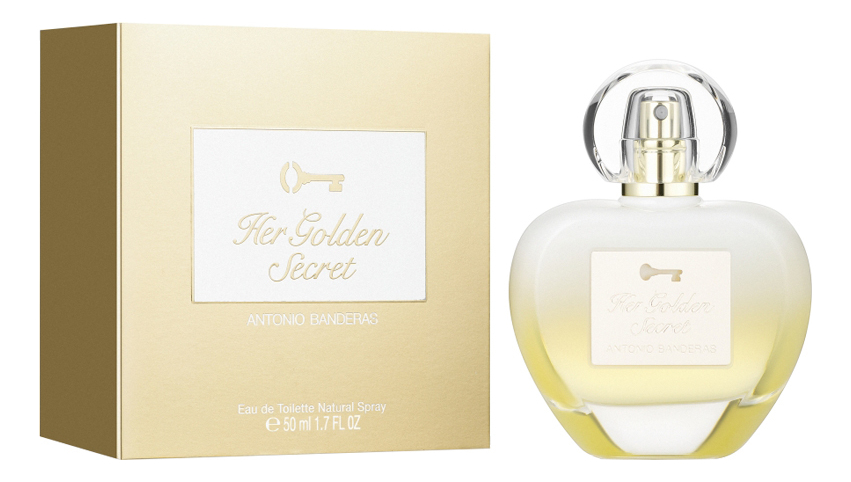 Her Golden Secret: туалетная вода 50мл (новый дизайн) her secret desire туалетная вода 50мл